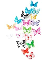 12 pcs Romantic 3D Butterfly Cute Multi-Color Home Room Wall Stickers Decors