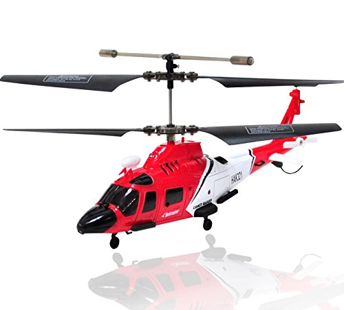 Haktoys HAK321 Mini 3.5 Channel RC Helicopter, Easy & Ready to Fly, with Gyroscope