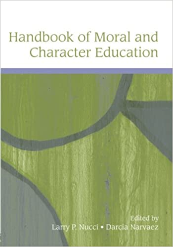 Handbook of moral and character education