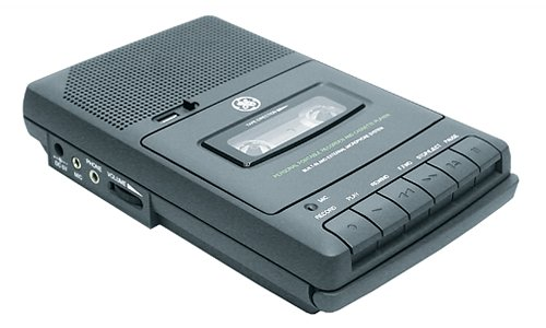 GE 35027 AC Cassette Recorder