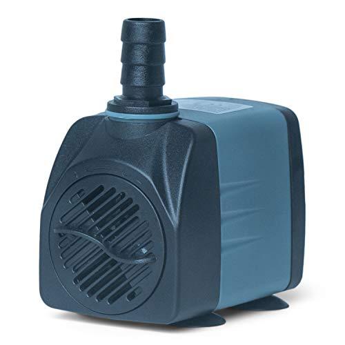 Holinpump Water Pump 211 GPH Adjustable Submersible Internal Aquarium Powerhead Water Pump Ultra Quiet for Aquarium,Fish Tank ()