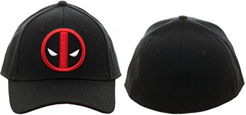 Marvel Deadpool Flex Cap Baseball Hat]()