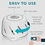 Marpac Dohm Connect (White) | White Noise Machine w/ App-Based Controls | Soothing Sounds from a Real Fan | Sleep Timer & Volume Control | Sleep Therapy, Office Privacy, Travel | For Adults & Baby