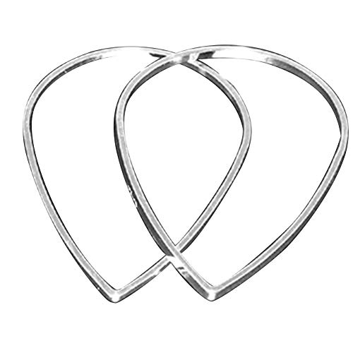 PH PandaHall 2000pcs Brass Linking Rings Drop Rings Silver Components Links for Dangle Pendants Earrings Jewelry Making Key Chain