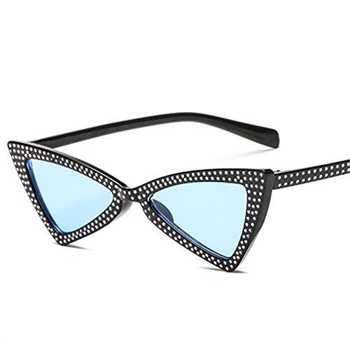Cristal De Femmes Pour Triangulaires Soleil Blackblue Lunettes Xctyq En FwqY6fF