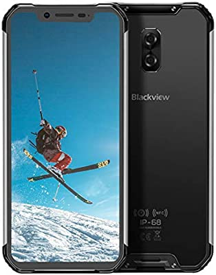 Móvil Libre Resistente(2020), Blackview BV9600 Telefono Móvil Antigolpes, 6,2 Pulgadas FHD+ AMOLED Pantalla, 4GB+64GB, 5580mAh,16MP+8MP Smartphone Impermeable IP68,Android 9.0, 4G Dual SIM/NFC-Plata: Amazon.es: Electrónica