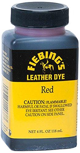 Fiebing's Leather Dye (Leather Dye Red)