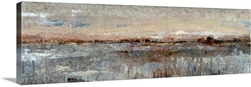 GREATBIGCANVAS Grey Mist I Canvas Wall Art Print
