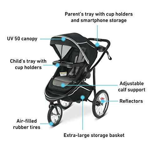 41C6ZHKfoeL - Graco Jogging Stroller | Modes Jogger 2.0, Binx