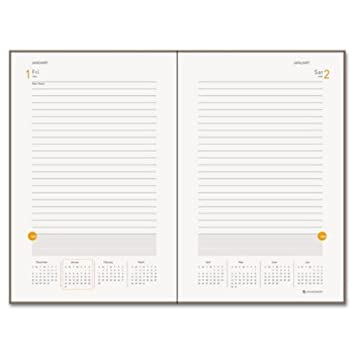 Amazon.com : AT-A-GLANCE One-Day-Per-Page Planning Notebook, 6 x 9 ...