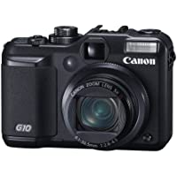 Canon Powershot G10 14.7MP Digital Camera with 5x Wide Angle Optical Image Stabilized Zoom At A Glance Review Image