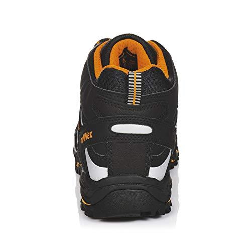 SicherheitsSandalee RUNNEX s1p-lightstar Sicherheitsschnürstiefel Silber schwarz, orange und 5131 Silber Sicherheitsschnürstiefel schwarz/Orange/Silver 036db9