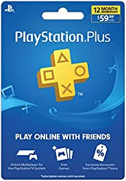 Sony PlayStation Plus 12 Month Subscription Gift Card