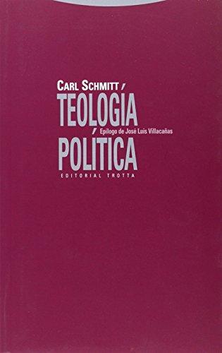 Descargar Libro Teología Política Carl Schmitt