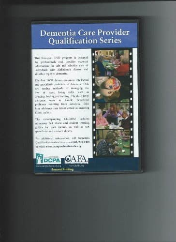 Dementia Care Provider Qualification (Provider Series)