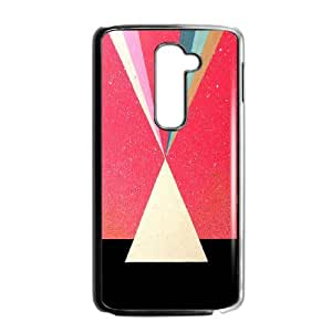 Good Quality Phone Case Designed With Triangle Pattern For LG G2