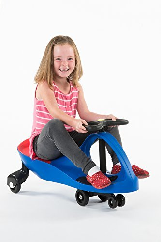 "PlasmaCar Ride-On, Blue, 31.5""W x 16""H x 13.3""D"