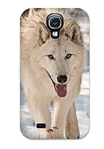 Hot Fashion WsJQrOF2072IkOGZ Design For Case HTC One M7 Cover Protective Case (arctic Wolf )