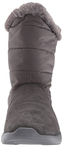 Skechers Donne On-the-go Città 2 Puff Winter Boot Carbone
