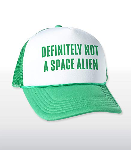 Headline New Shirts Funny Novelty Graphic Mesh Back Hat - Space Alien