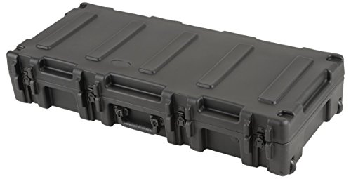 SKB 3R4417-8B-EW Roto-Molded 44 x 17 1/2 x 8 Inches Waterproof Case with TSA Latches and Wheels by SKB