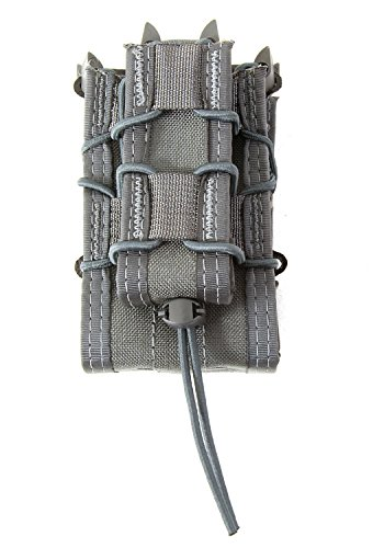 High Speed Gear X2Rp Taco Molle Pouch Wolf Gray 112Rp0Wg by High Speed Gear
