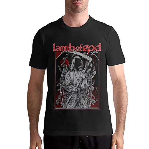 Lamb of God Man Music Short Sleeve Tee Shirt XL Black (Lamb Of God Rob Gardner Sheet Music)