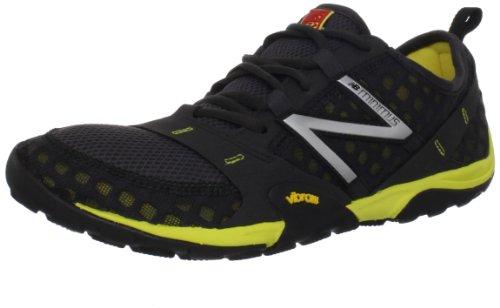 New Balance Men's MT10 Minimus Trail Running Shoe,Grey/Yellow,10 D US