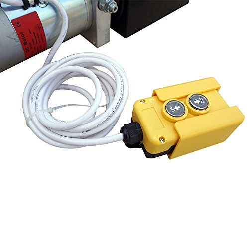 Fisters trailer pump 3 Quart 12V  electric  Hydraulic Power Double/single acting Power-Up Supply Unit for Dump Truck(3 Quart Double Acting) by Fisters (Image #3)