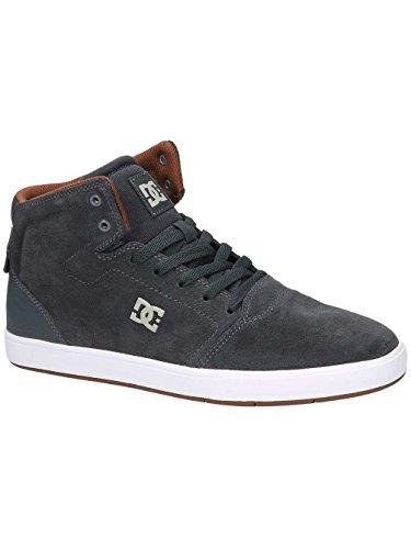 Hombre White Zapatillas Crisis para Shoes DC Grey ITaqF8w