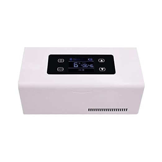 LJJLJJLJJLJJ Mini refrigerador para insulina,Portátil Refrigerador ...
