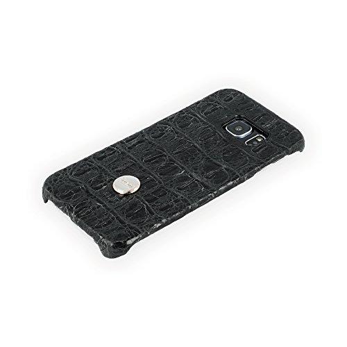 QIOTTI QX-C-0130-03-SGS6E Snapcase Q.Snap Balance Premium Echtleder für Samsung Galaxy S6 Edge schwarz