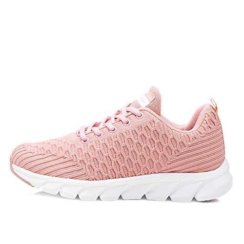 Pink Formation Unisexe Léger Fitness Guqi Trainer Sport Chaussures De 6 Nouvelles Des Jogging Course Chocs Absorption Respirant Z4Z8qOwv