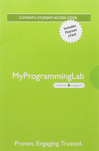 MyProgrammingLab with Pearson eText -- Standalone Access Card -- for Building Java Programs: A Back to Basics Approach by Pearson