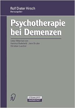 Psychotherapie bei Demenzen