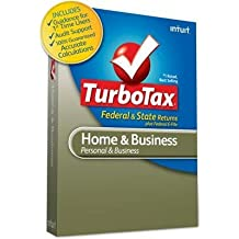 New - TurboTax Home & Business 2011 by Intuit - 417415