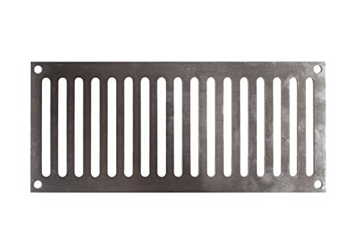 AMS Fireplace 9x4 Inch 321 High Gauge Stainless Steel Fire Pit Enclosure Vent - Commercial Grade (Bbq Island Vent)