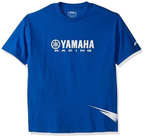 Factory Effex 12-88164 'Yamaha' Strobe T-Shirt (Blue, (Yamaha Racing)