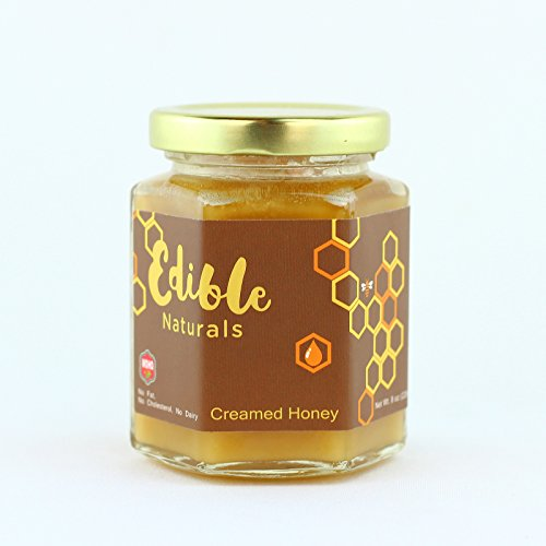 WOHO Editable Pure Creamed Honey All Natural Spun Raw Honey (Plain), - Outlets North Carolina