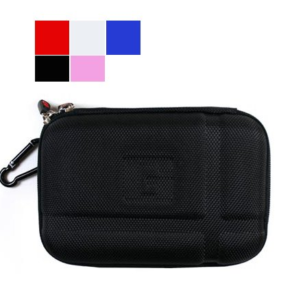 GPS Carrying Case Fits 5 Inch 5.2-Inch Garmin Nuvi 5000 1490T 1450 1450T TomTom XXL 530S XXL 540TM 540S 540M 540S 540T 550TM 550T Magellan Mestro 5310 5045 LM Motorola - Leather 5310