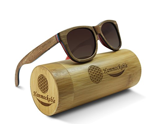 Superheroes With Glasses (Hammockable Handmade Natural Wood Polarized Sunglasses that Float! (Brown Maple - Puzzle, Brown))