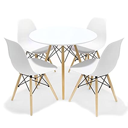 Conjunto de comedor / cocina Inspirado en el diseño Tower Eames ...