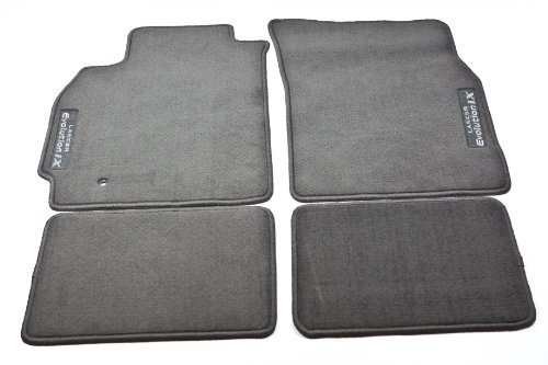2005 2006 GENUINE MITSUBISHI EVOLUTION EVO IX 9 EVO CARPET FLOOR MATS ()