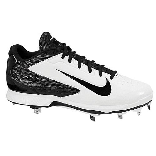 Nike Mens Huarache Pro Låg Metall Vit Svart Oss 8 M