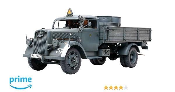 Tamiya 35291 - Maqueta Para Montar Camión Militar de Carga Alemán 3 Toneladas 4x2 Escala 1/35