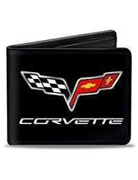 Buckle-Down Wallet C6 Logo Centered Accessory