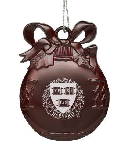 Harvard University - Pewter Christmas Tree Ornament - Burgundy - Amazon.com: Harvard University - Pewter Christmas Tree Ornament