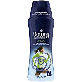 Downy Odor Protect in-Wash Scent Booster Beads, Active Fresh, 20.1 oz (Packaging May Vary)