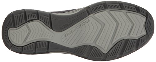 Les Skechers Utilisent Elment Retribe Slip-on Mocassin Charbon De Bois