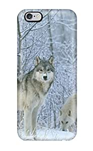 Wolves Fashion Tpu 6 Plus Case Cover For Iphone